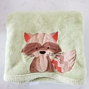 2010 Racoon Baby Blankets by CARTER'S